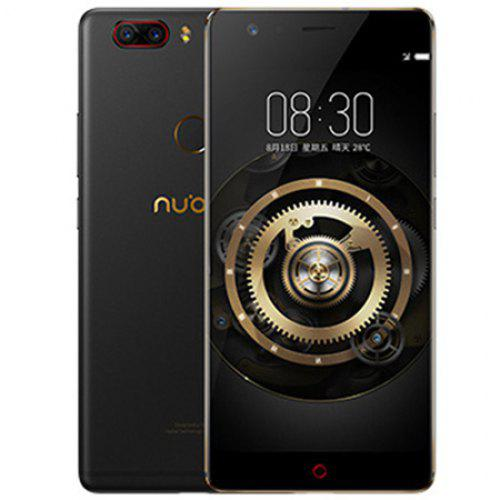 Gearbest Nubia Z17 Lite 4G Phablet 5.5 inch Global Version - BLACK 6GB RAM 64GB ROM 13.0MP Dual Rear Cameras
