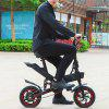 GUANGYA Y1 Smart Folding Bike Moped Electric Bike  E-bike - BLACK