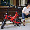 GUANGYA Y1 Smart Folding Bike Moped Electric Bike  E-bike - RED