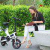 GUANGYA Y1 Smart Folding Bike Moped Electric Bike  E-bike - WHITE