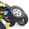 HAIBOXING 12895 1/12 2.4G 4WD RC Off-road Car - YELLOW