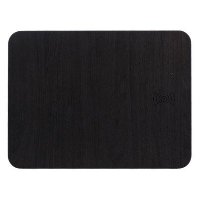 2 in 1 Qi Standard Wooden Texture Wireless Charger Mouse Pad
