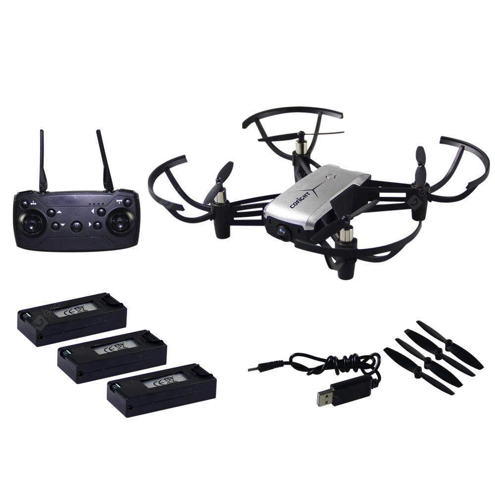 IN 1802 720P Waypoints / G-sensor / Altitude Hold RC Drone - GRAY 3 BATTERIES