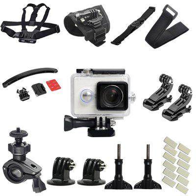 Action Camera Outdoors Cycling Accessories Kit
