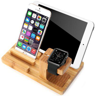 Bamboo Stand Tablet Holder for iPhone / iPad / iWatch