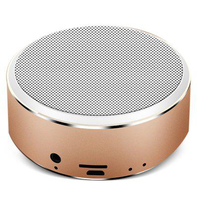 A8  Bluetooth 4.2 Metal 64G TF Portable Musical Speaker