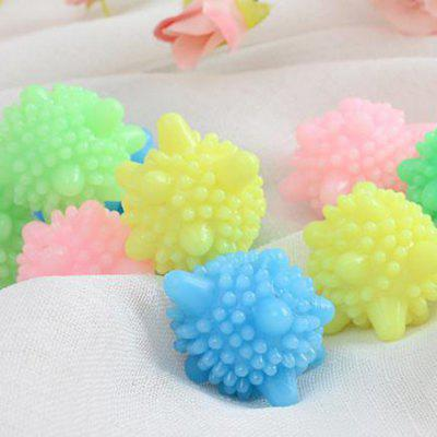 Reusable Solid Laundry Ball PVC Washing Tool 5PCS
