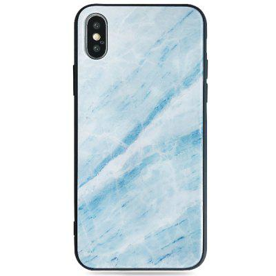 Phone Cover with Marble Pattern for iPhone X