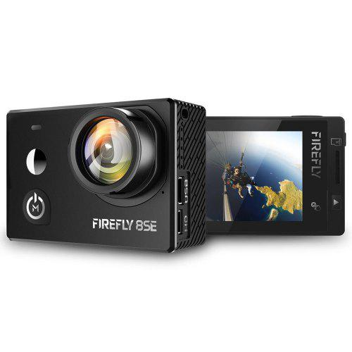 Hawkeye Firefly 8SE 4K Touch Screen Action Camera - BLACK 170 DEGREES LENS