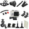 Action Camera Outdoors Cycling Accessories Set - WHITE