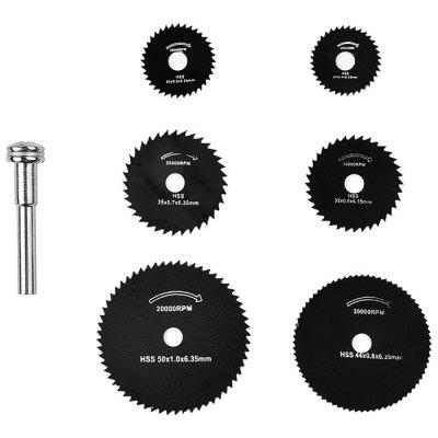 Micro High Speed Steel Saw Blade 6PCS