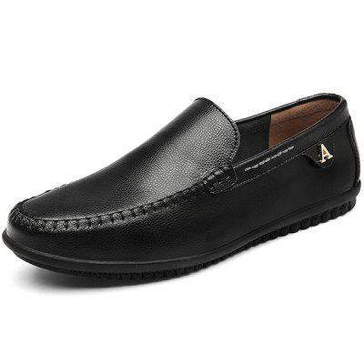 Men Trendy Soft Slip-on Handcrafted Leisure Loafer Shoes