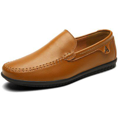 Muži Trendy Soft Slip-on Handcrafted Leisure Loafer boty