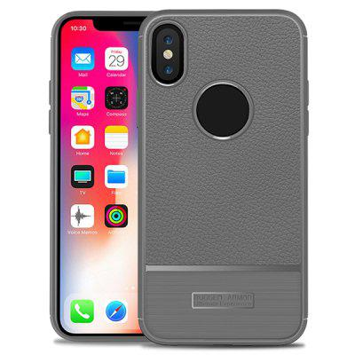 Cover per telefono modello Litchi per iPhone X