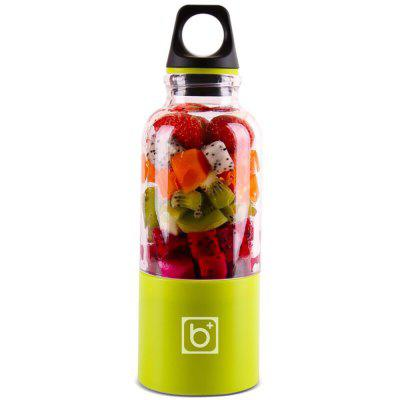 500ml USB-oplaadbare draagbare mini-fruitpersfles