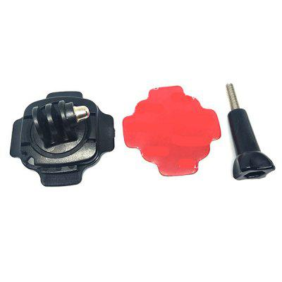 360 Degrees Rotating Helmet Mount for GoPro HERO3+ / 4 Action Camera