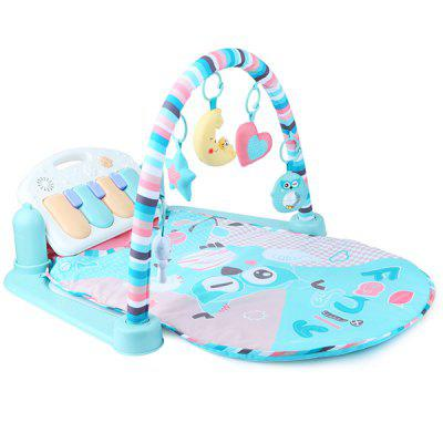 Beiens Baby Fitness Bodybuilding Frame Pedal Piano Music Play Mat