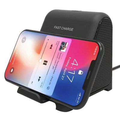 Fast Wireless Charging Phone Holder Stand Stent
