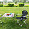 KingCamp KC3866 Lightweight Folding Table - CARBON GRAY