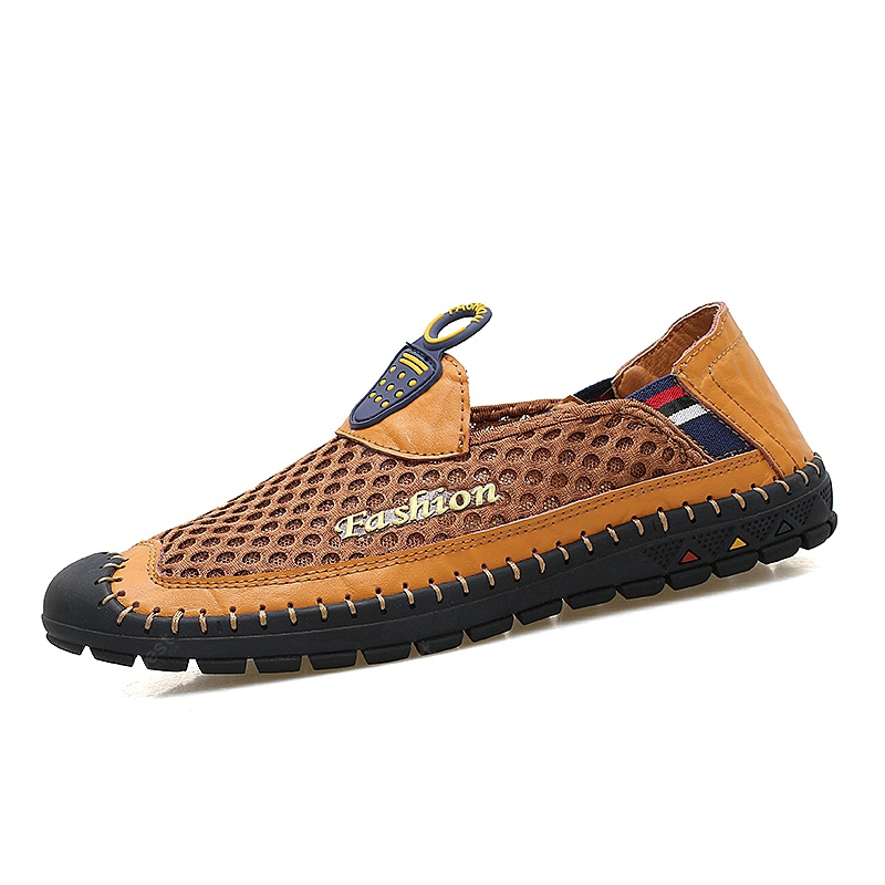Fashionable PU Breathable Slip-on Causal Shoes for Men