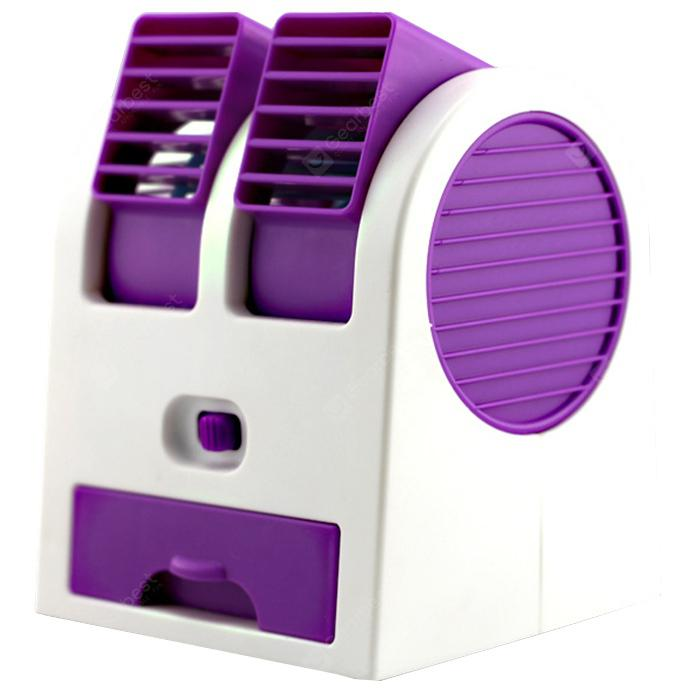 Bons Plans Gearbest Amazon - Mini Mute Desk USB Fan PURPLE