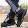 Stylish Outdoor Shock-absorbing Anti-slip Sports Hiking Shoes - BLACK