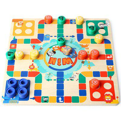 Topbright 130710 Two-sided Flying Chess Puzzle Toy