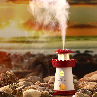 Mini Lighthouse Style USB Humidifier with LED