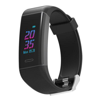 Elephone ELE W7 Smart Bracelet - Dark Slate Blue/Viola Purple/Black