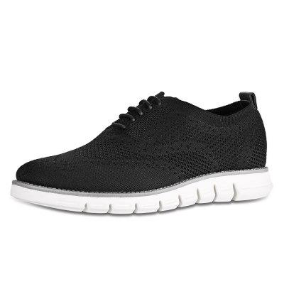 Men Fashion Knitted Casual Shoes