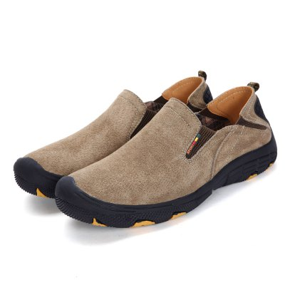Men Daily Leather Casual Shoes
