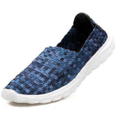 Women Stylish Lightweight Breathable Casual Woven Shoes