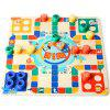 Topbright 130710 Two-sided Flying Chess Puzzle Toy - MULTI