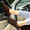 Men Stylish Soft Breathable Anti-slip Casual Shoes - COFFEE