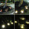 8 LED Solar Lawn Light Decor - SILVER