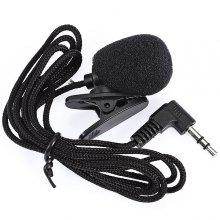 NEWGOOD N - P2 Mini 30Hz - 15000Hz 3.5mm Tie Lapel Lavalier Clip Microphone for Lecture Teaching / Video Chatting