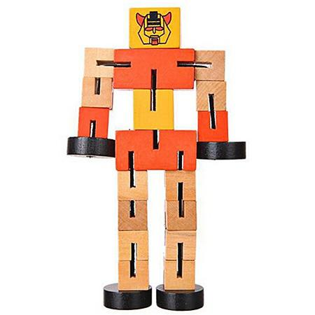Educational Toys Multifunctional Wooden Robots | Gearbest