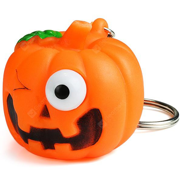 Pretty Pumpkin Pattern Keychain