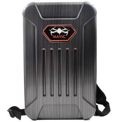 1103236 Wire Drawing Waterproof Hard Shell Backpack