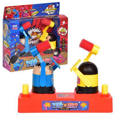 Double Player Battle Game Relieve Pressure Toy 1pc