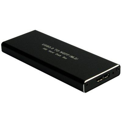USB 3.0 SATA SSD Mobile Hard Drive Enclosure