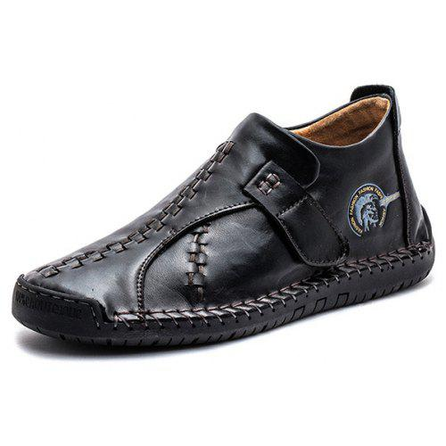 Men Trendy Soft Anti-slip Leather Casual Shoes