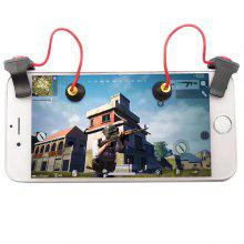 Smartphone Mobile Gaming Shooting Button 2pcs