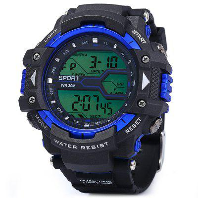 8338G Multifuncțional bărbați LED Sport ceas Watch Digital