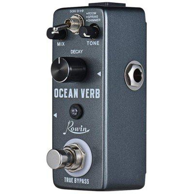 ROWIN LEF - 3800 Ocean Verb Effects Pedal for Guitar