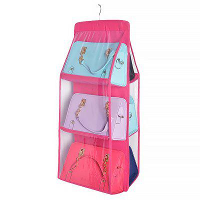 Hanging Wardrobe Perspective Collating Household Storage Bag