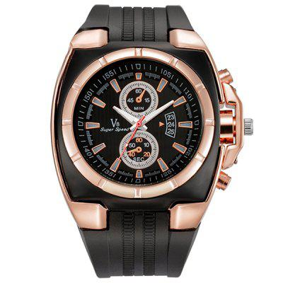 watches men luxury fashion brand wristwatches mens rubber casual Sports watches Quartz Watch man