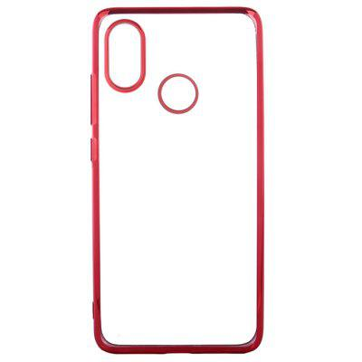 ASLING Electroplating Edge TPU Protective Case for Xiaomi Mi 8