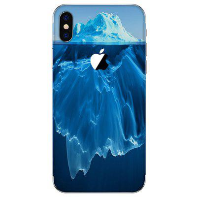 Glacier Anti-scratch Back Protective Film for iPhone X