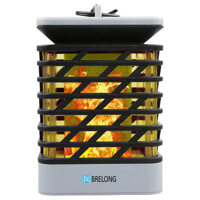 BRELONG LED Solar Dancing Flame Light